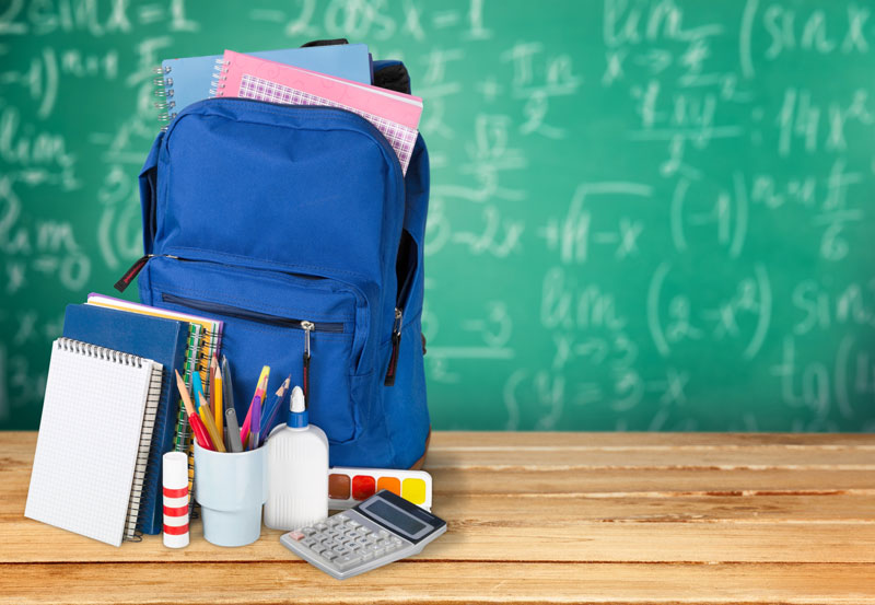 Does Your Child Have the Back to School Essentials?
