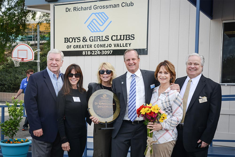 Dr Grossman Dedication - Boys and Girls Club of Greater Conejo Valley