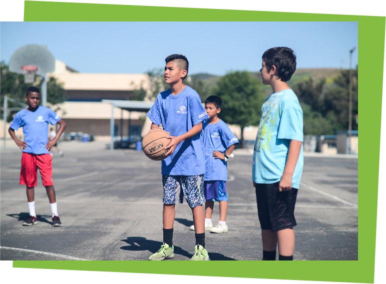 Basketball Camp at BGC