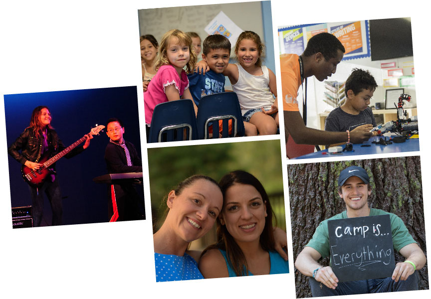 Boys and Girls Club Member Collage