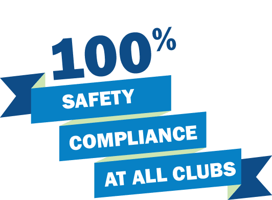 100% Safety Compliance