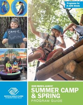 Summer Camp & Spring 2020 Program Guide