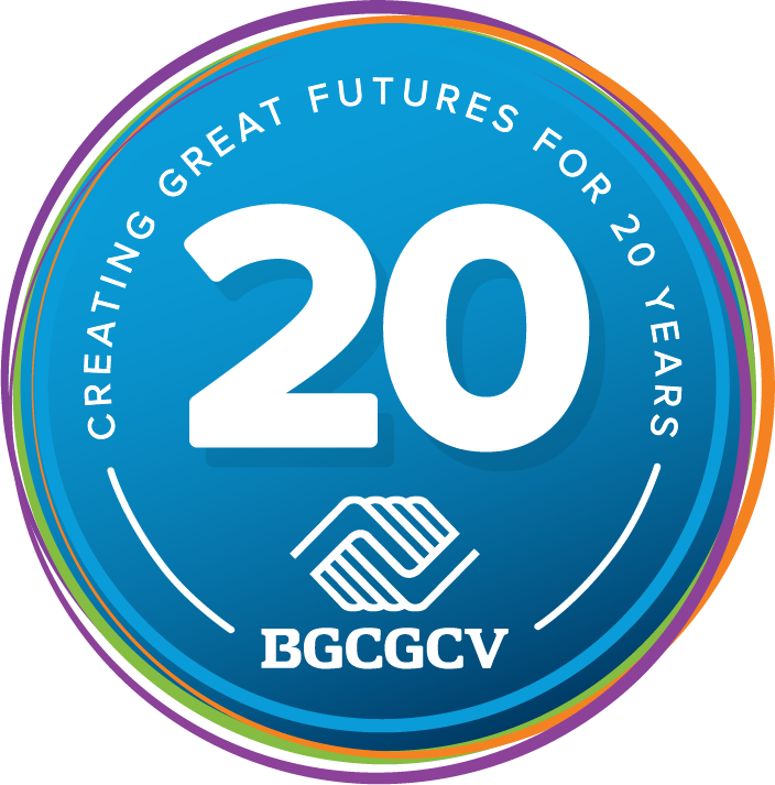 BGCGCV 20th Anniversary Logo