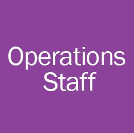 BGCGCV Operations Staff