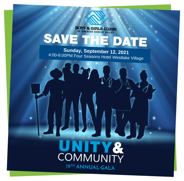 Save the Date 2021 Gala